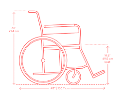 Standard Wheelchair Size Chart Wheelchairs Dimensions Drawings Dimensions Guide