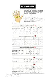 Glove Size 10 Chart Size Chart Gloves By Barnett Issuu