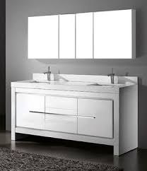 Modern White Bathroom Cabinets Vanities And Sink Consoles Los Angeles Throughout Creativity Design