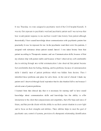 reflective essay mental health nursing mental health nursing assignment sample new essays