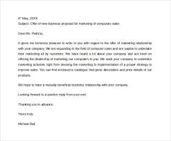 proposal letter example awesome collection of writing a proposal letter example on template