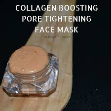 tautymascot collagen boosting homemade face mask