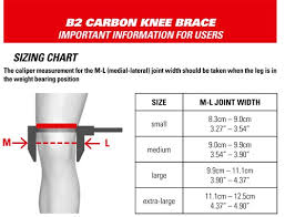 Alpinestars Knee Pad Size Chart Alpinestars Carbon B2 Knee Brace