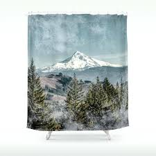 frosty mountain nature photography shower curtain by mountain shower curtain frosty mountain nature photography shower curtain