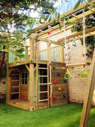 backyard clubhouse ideas 30 free diy playhouse plans to build for