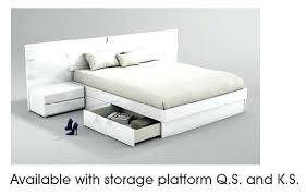 white king storage bed. White King Storage Bed U Platform Set G