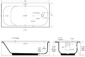 clawfoot tub dimensions bathtubs idea amusing bathtub dimensions tub slipper bathtubs dimensions of a bathtub small
