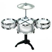 desktop drum set silver picture