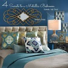 4 style secrets to create the metallic bedroom of your dreams