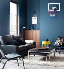 Nice Ideas Wandfarbe Grau Blau Innenarchitektur Wand Stehen Auf