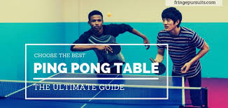 Best Ping Pong Table Reviews Table Tennis Comparisons 2018