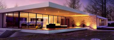 lighting in houses. modern houses in the future lighting