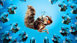Ice age squirrel, Cartoon wallpaper