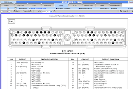 where can i find a wire diagram of the plug on a power control 1999 ford expedition stereo wiring diagram at 1999 Ford Expedition Wiring Diagram