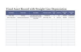 35 Depreciation Schedule Templates For Rental Property Car