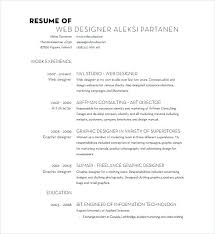 Resume Wording Examples Awesome Graphic Design Resumes Examples Web Designer Resume Web Designer