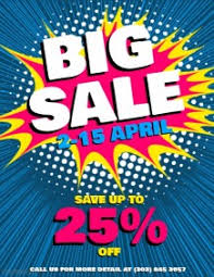 sale flyers customize 5 990 retail poster templates postermywall