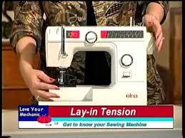Elna 1010 Sewing Machine How To Thread