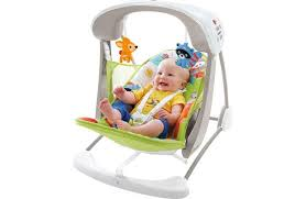 fisher woodland friends take along baby swing