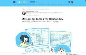 Data table design examples Visual Data Tables Design Basics Jqueryazcom Essential Resources To Design Complex Data Tables Stéphanie Walter
