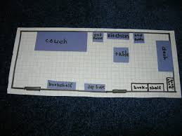 Rearranging A Room On Graph Paper Susans Homeschool Blog