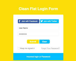 Registration Page Html Template Tab Login Sign Up Forms Html Registration Form Template Student Css