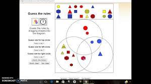 Venn Diagram Of Geometric Shapes Venn Diagram Shapes Youtube