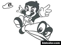 Super Mario Brothers Printable Coloring Pages Bros Free Sheets