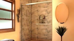 install bathtub door half glass shower door for bathtub doors trackless how to install a on