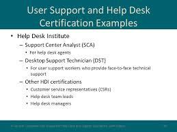 user support management ppt