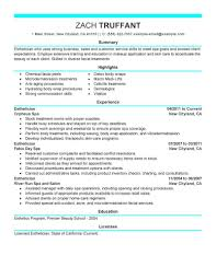 Hairstylist Resume Cover Letter Templates Resume Cover Letter