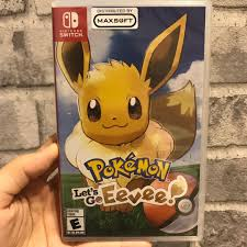 NEW] Nintendo Switch Game - Pokémon Let's Go Eevee, Toys & Games, Video  Gaming, Video Games on Carousell