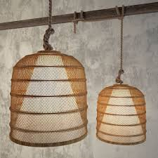 roost lighting. roost basket cloche lamp lighting