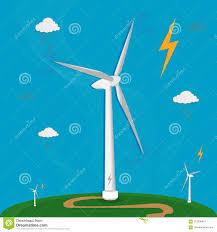 Alternative Wind Power Designs Wind Flat Energy Turbine Illustration Icon Power 3d