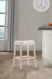 white backless bar stools. Sorella Non-swivel Backless Bar Stool - Full K/d Construction White ( Stools B