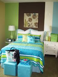 turquoise and lime green bedding bedroom beach with aqua