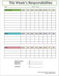 Kids Commission Chart If You Struggle With Chores In Your House Weve Got The Fix