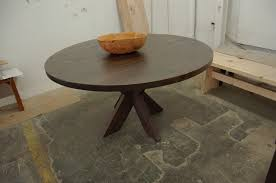 x base round dining table