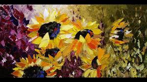beautiful flower paintings by lena karpinsky