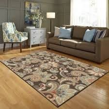 2 better homes and gardens paisley berber printed area rug