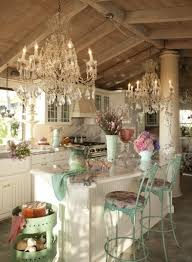 Shabby Chic Country Kitchen 20 Chic Country Kitchen Cabinets Design Inspiration Chloeelan
