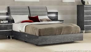 Platform Bedroom Furniture Furniture Elite Grey Birch Queen Platform Bed In Grey