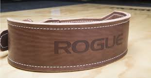 rogue oly ohio lifting belt weightlifting vegetable tanned leather rogue fitness