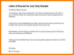 Jury Duty Medical Excuse Letter Template Beautiful Format Of Excuse
