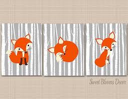 gorgeous fox wall art interior designing amazon com nursery gray woodland nz canvas on wall art nursery nz with gorgeous fox wall art interior designing amazon com nursery gray