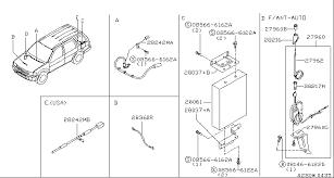 2001 infiniti qx4 oem parts infiniti usa estore 2001 Infiniti QX4 Inside at 2001 Infiniti Qx4 Antenna Wiring Diagram
