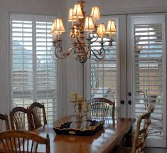 shutters wood white french doors traditional dining room jpg