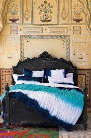 bohemian quilt set map comforter tie dye bedding
