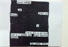 Blackout Poetry Blog National Library Of New Zealand