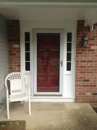 Ideas: Larson Storm Doors Lowes With Pella Storm Doors And Storm ...